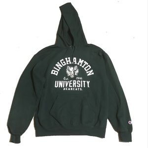 Binghamton University Champion Sweatshirt Hoodie M